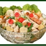 Chicken frui salad