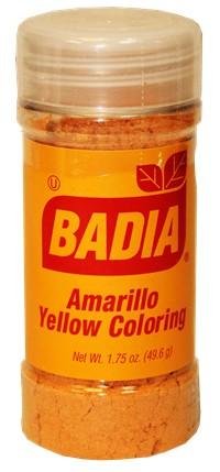 Badia yellow coloring 1.75