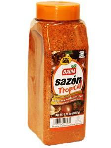 Badia Sazon Tropical Seasoning With Coriander Amp Annato 1 75 Lbs No Msg Cubanfoodmarket Com