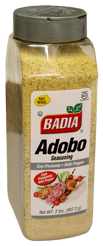 Badia Adobo Seasoning With Pepper 2 Lb Cubanfoodmarket Com