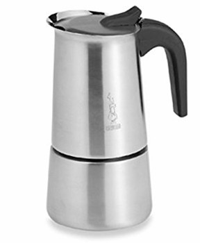 Bialetti Musa Stainless Steel Top Of The Line Cuban Coffee Maker 4