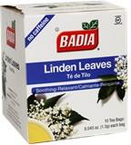 <font color=red><b>SPECIAL THIS WEEK<b></font> <br>Badia Linden Tea 10 Bags