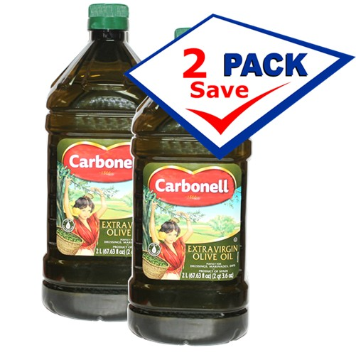 Carbonell extra virgin olive oil 2 L (67 63 oz) Container Pack of 2