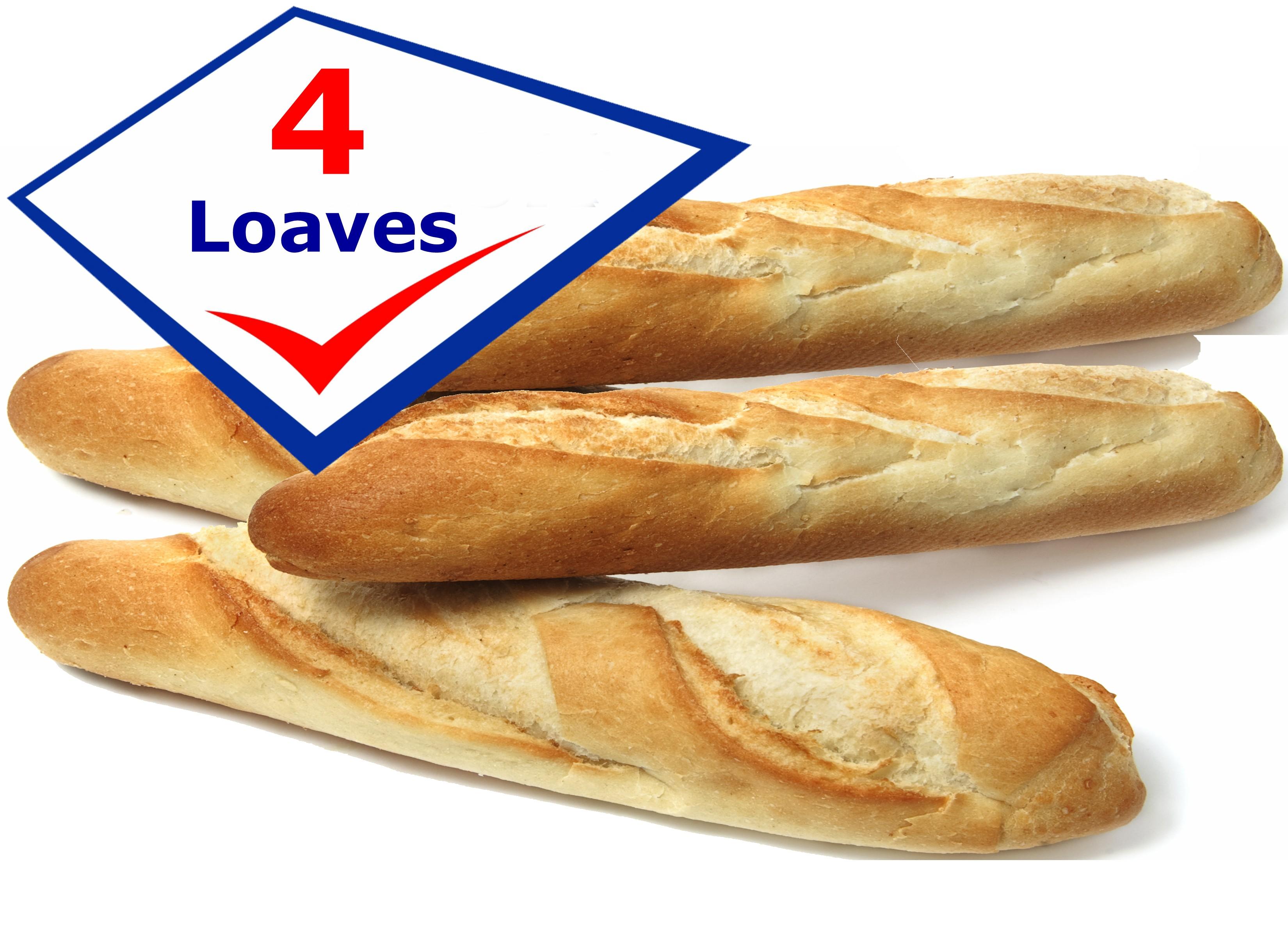 Fresh Cuban Bread Pan Cubano Fresco 4 Loaves 8 Oz Each Aprox 20 22 Long Cubanfoodmarket Com