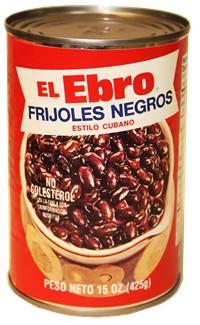 El Ebro Cuban Style Black Beans 15 Oz Cubanfoodmarket Com