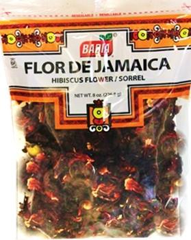Flor De Jamaica Hibiscus Flower Sorrel 8 Oz Cubanfoodmarketcom