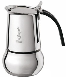 Bialetti Kity Stainless Steel Cuban Coffee Maker 4 Cups