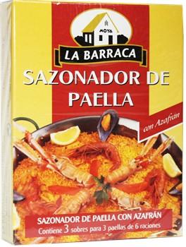 Sazonador de paella la barraca oz for Azafran cuban cuisine