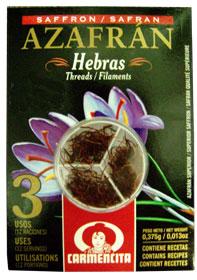 Carmencita spanish saffron azafran oz for Azafran cuban cuisine