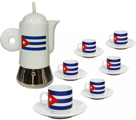 Cuban Coffee Maker With Demitet