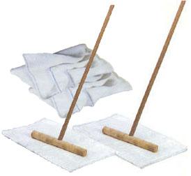 Cuban Mops Original Wood Construction Set Of 2 With Free Mop Cloths