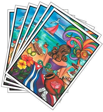 Invitation Card Generation Cuban Set Of 6 Cubanfoodmarket Com