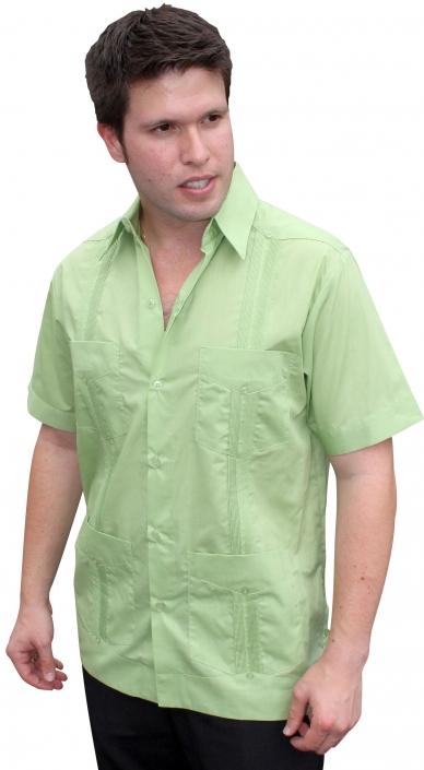 bc3ac6be646 Cuban Style Guayabera Shirt for Men -Long Sleeve