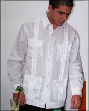 a1ce15d63d5 Cuban Style Guayabera Shirt for Men