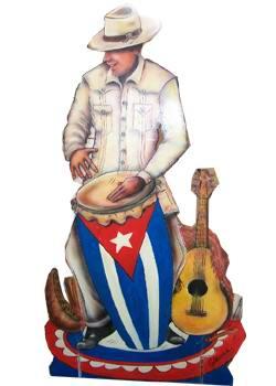 Rumbero con tumbadora Cubana